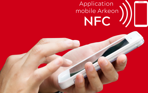 Application NFC Arkeon pour Android